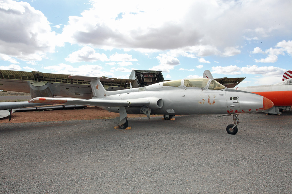 N495D Aero L-29 Delfin 30 Red Planes of Fame Museum