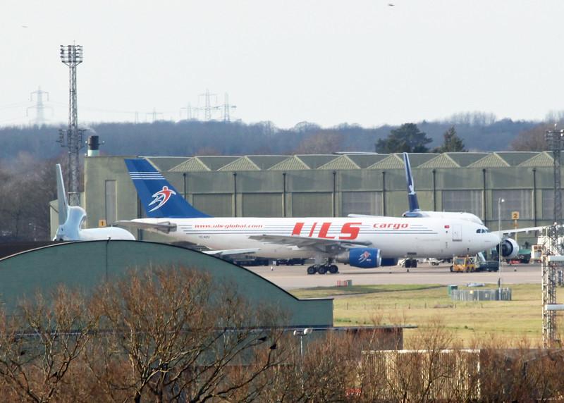 TC-KZV Airbus A300B4-2C :103F (RAF Brize Norton) Kuzu Cargo Airlines
