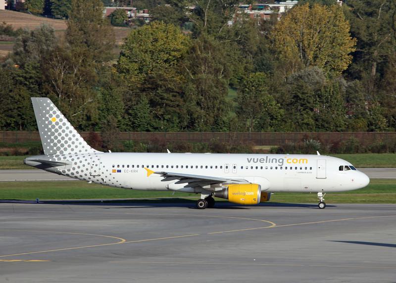 EC-KRH Airbus A320-214 (Zurich) Vuelling Airlines