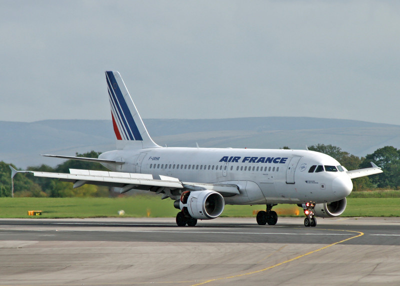 F-GRHR Airbus A319-111 (MAN) Air France 2