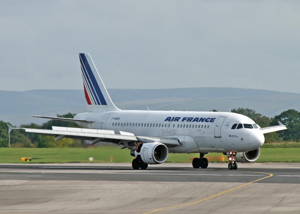 F-GRHR Airbus A319-111 (MAN) Air France 2