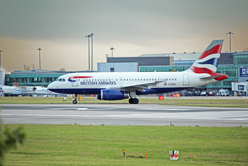 G-EUPL A319-131 (MAN) British Airways