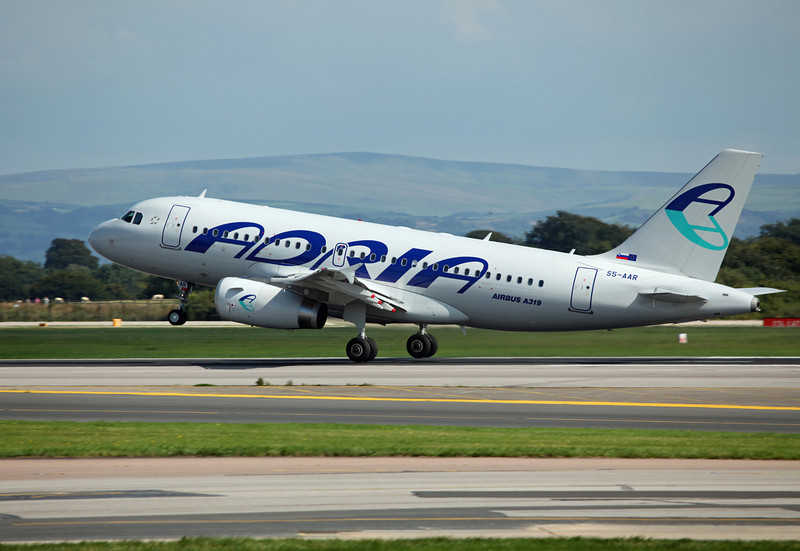 S5-AAR A319-132 (MAN) Adria Airways 6