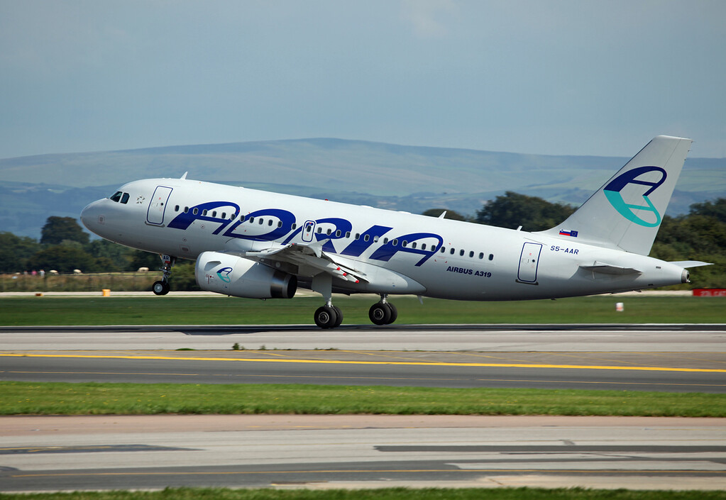 S5-AAR A319-132 (MAN) Adria Airways 6
