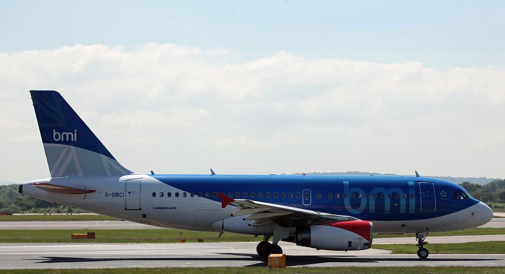 G-DBCI Airbus A319-100 (MAN)  BMI