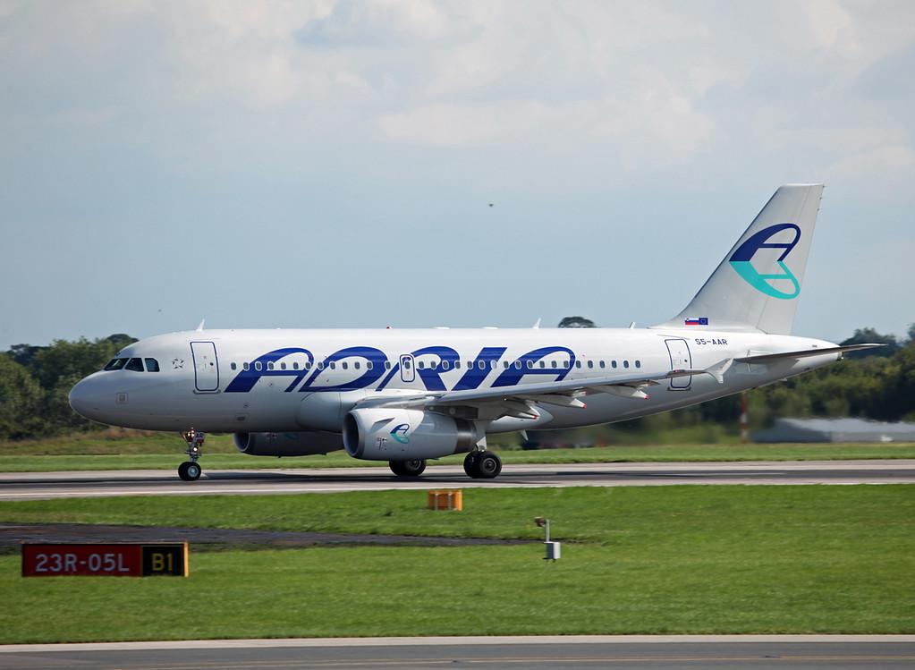 S5-AAR A319-132 (MAN) Adria Airways 5