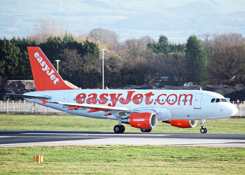 G-EZFE Airbus A319-111 (MAN) easyjet
