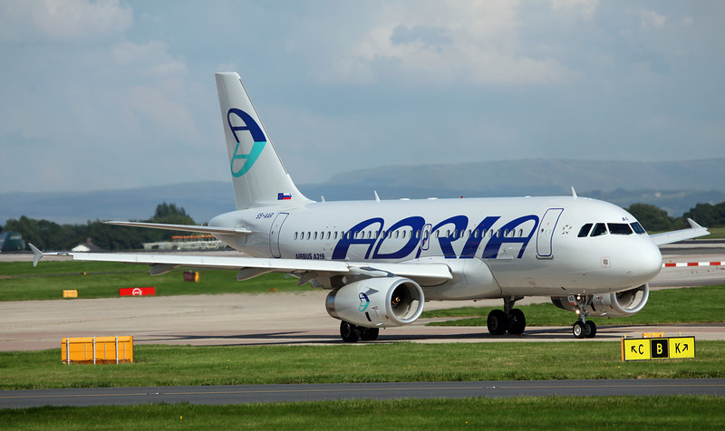 S5-AAR A319-132 (MAN) Adria Airways 3