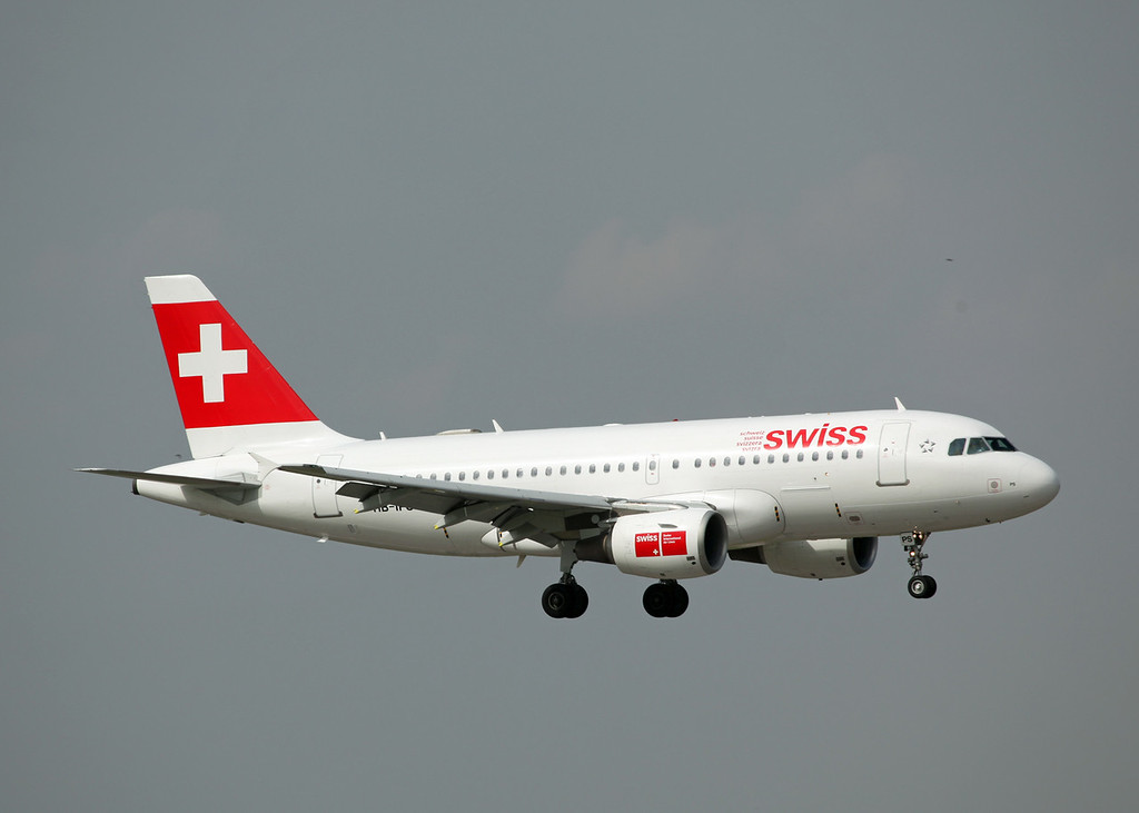 HB-IPS A319-100 (MAN) Swiss International Air Lines
