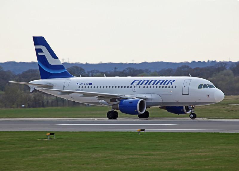OH-LVG Airbus A319-112 (MAN) Finnair 1