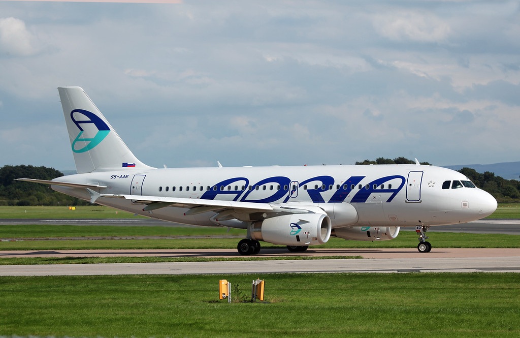 S5-AAR A319-132 (MAN) Adria Airways 4