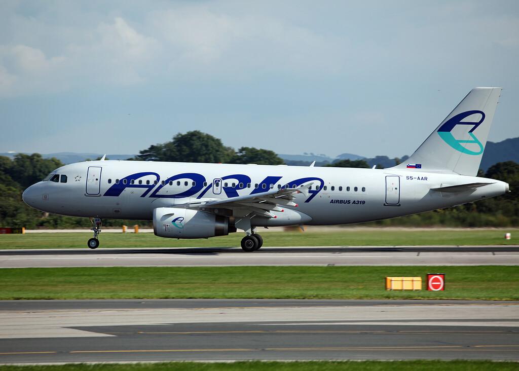S5-AAR A319-132 (MAN) Adria Airways