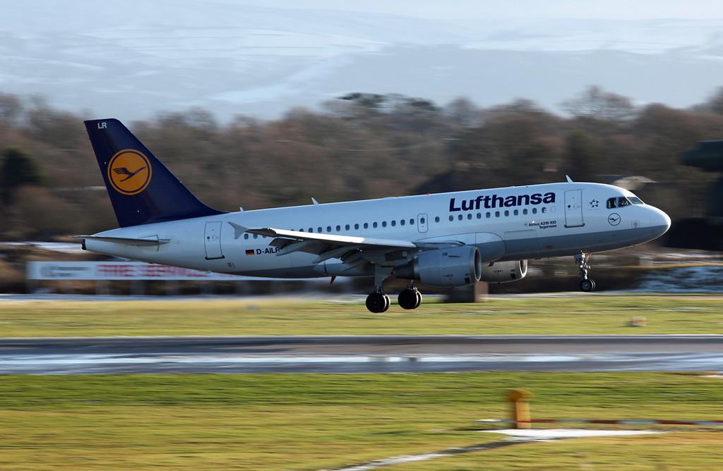 D-AILR A319-114 (MAN) Luthansa