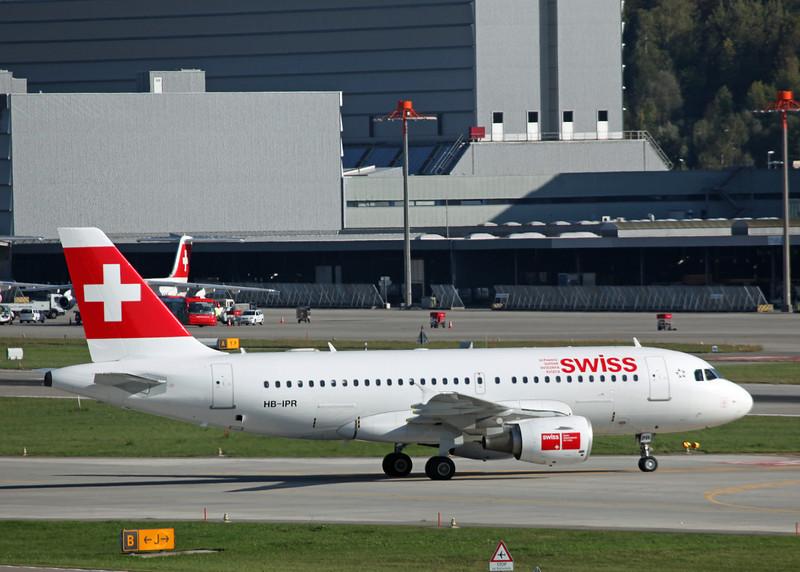 HB-IPR Airbus A319-112 (Zurich) Swiss International Air Lines