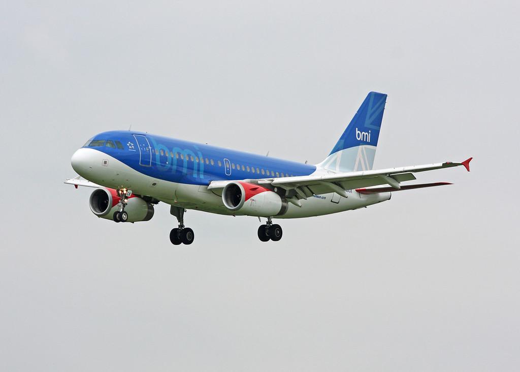 G-DBCK Airbus A319-131 (MAN) British Midland International