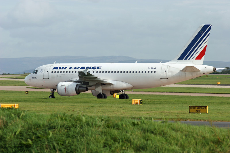 F-GRHR Airbus A319-111 (MAN) Air France
