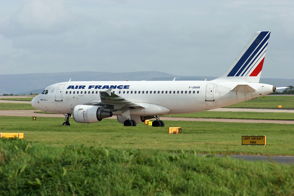F-GRHR Airbus A319-111 (MAN) Air France
