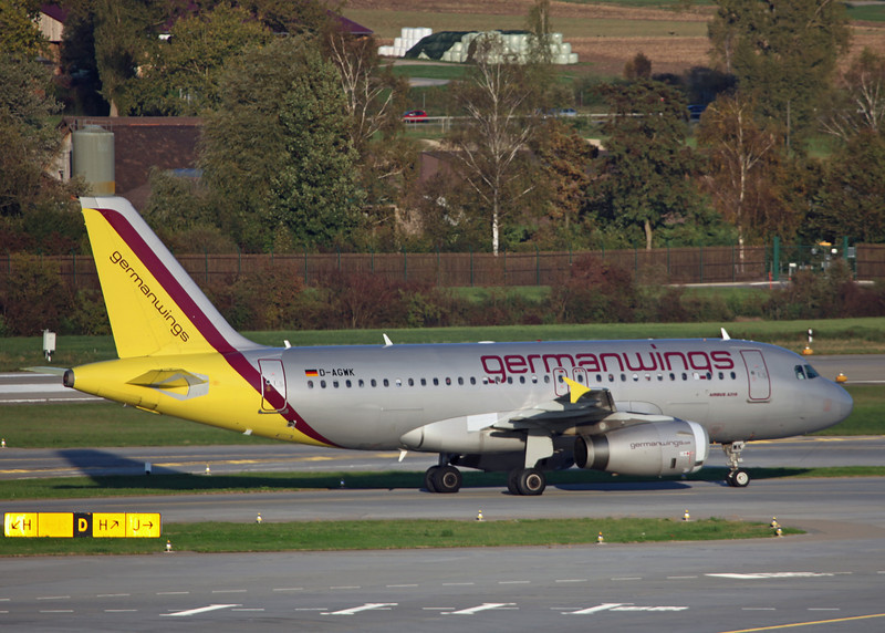 D-AGWK Airbus A319-132 (Zurich) Germanwings