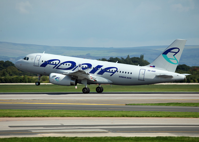 S5-AAR A319-132 (MAN) Adria Airways 2