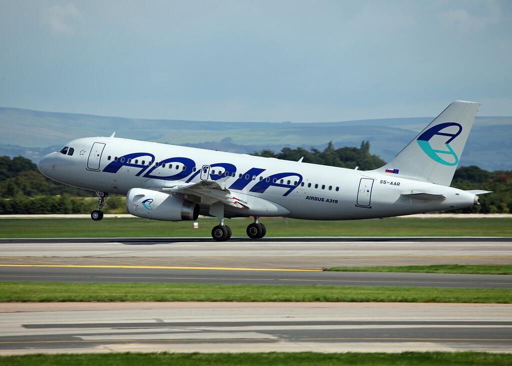 S5-AAR A319-132 (MAN) Adria Airways 2