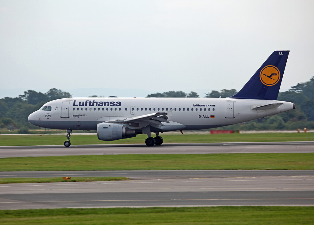 D-AILL A319-114 (MAN) Luthansa