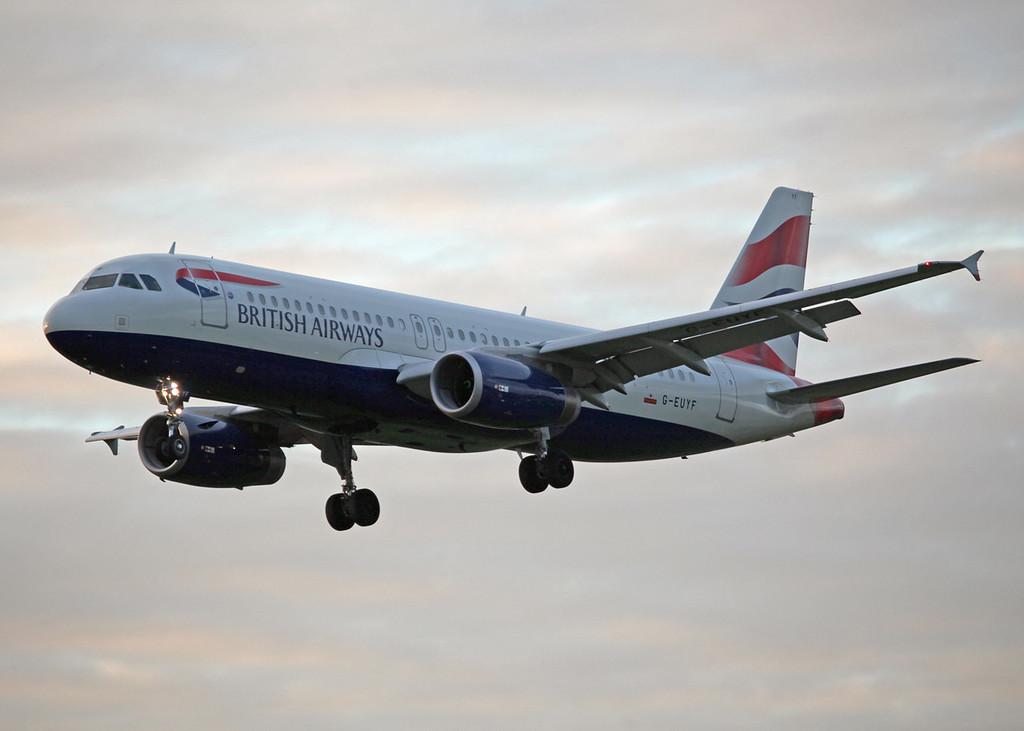 G-EUYF A320-200 (MAN) British Airways 2