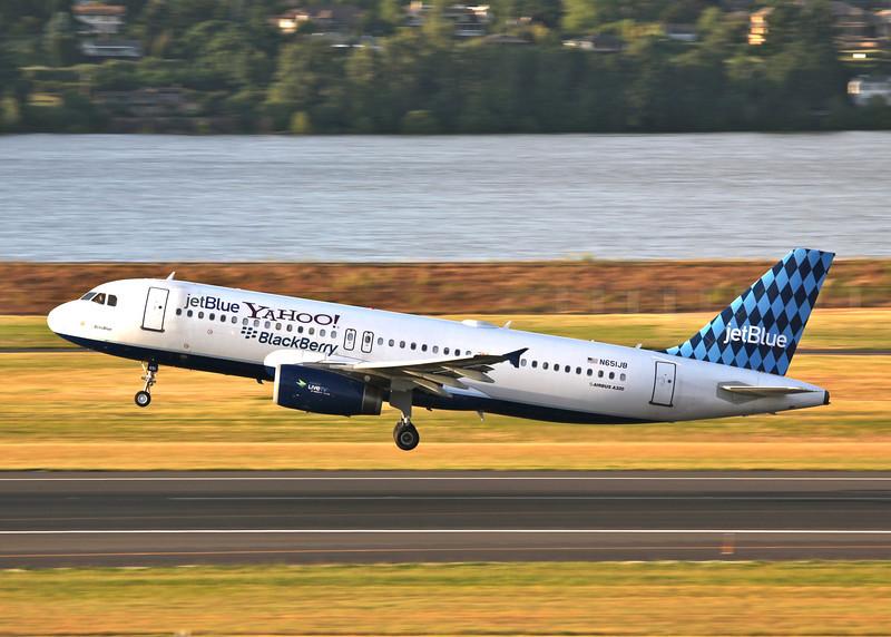 N651JB AirbusA320-232(Portland, Oregon) JetBlue Airways
