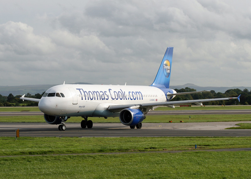 G-BXKC Airbus A320-214 (MAN) Thomas Cook Airlines