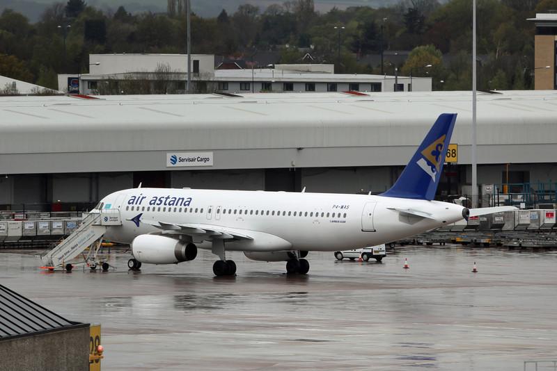 P4-WAS Airbus A320-232 (MAN) Air Astana