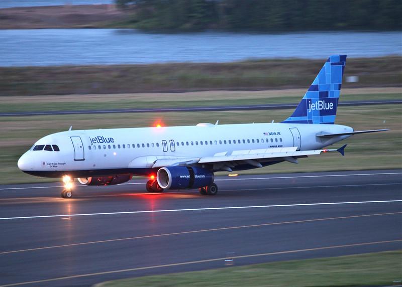 N618JB Airbus A320-232 (Portland International Airport, Oregon) JetBlue Airways