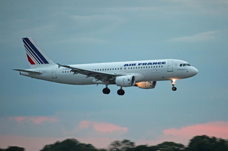 F-GKXS A320-200 (MAN) Air France