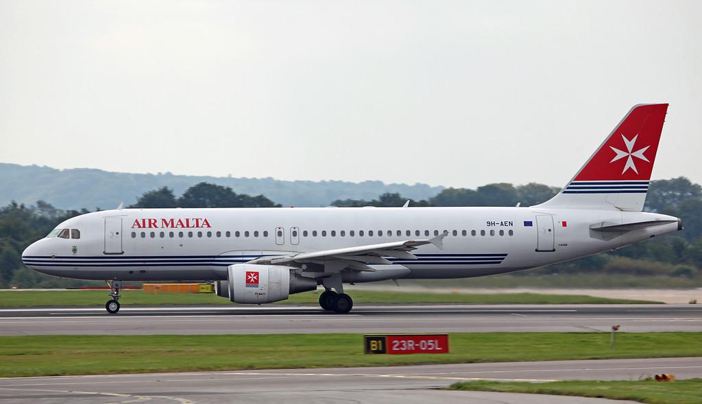 9H-AEN A320-200 (MAN) Air Malta