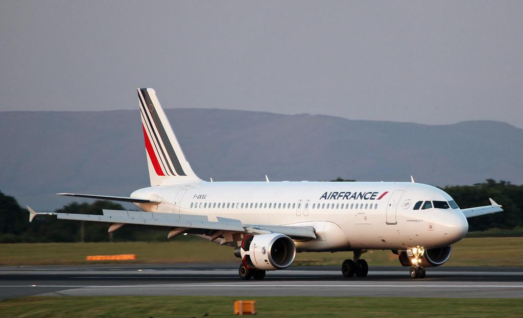 F-GKXU A320-214 (MAN) Air France 2