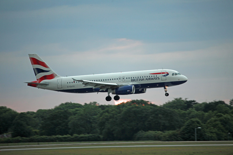 G-EUYC A320-200 (MAN) British Airways