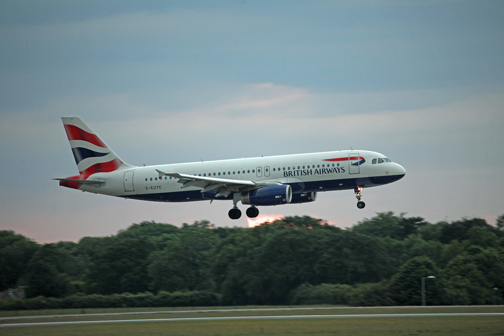 G-EUYC A320-200 (MAN) British Airways