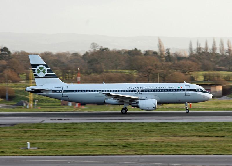 EI-DVM Airbus A320 (Manchester Airport) Aer Lingus [Retro scheme]