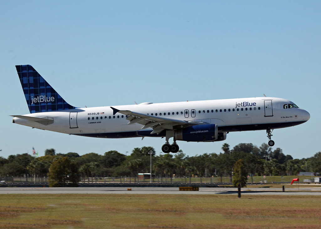 N599JB A320-232 (SRQ) Jet Blue