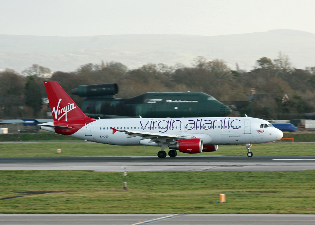 EI-DEO Airbus A320 (Manchester Airport) Virgin Atlantic Shuttle