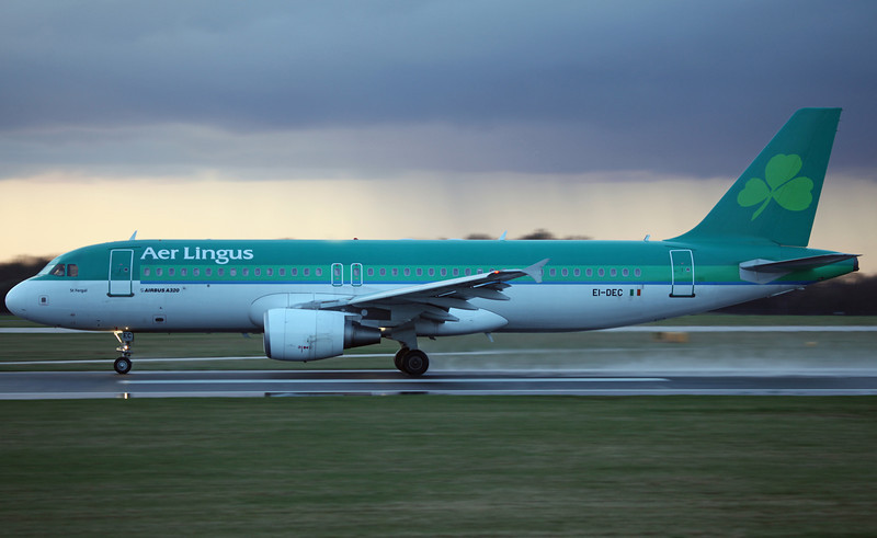 EI-DEC A320-214 (MAN) Aer Lingus