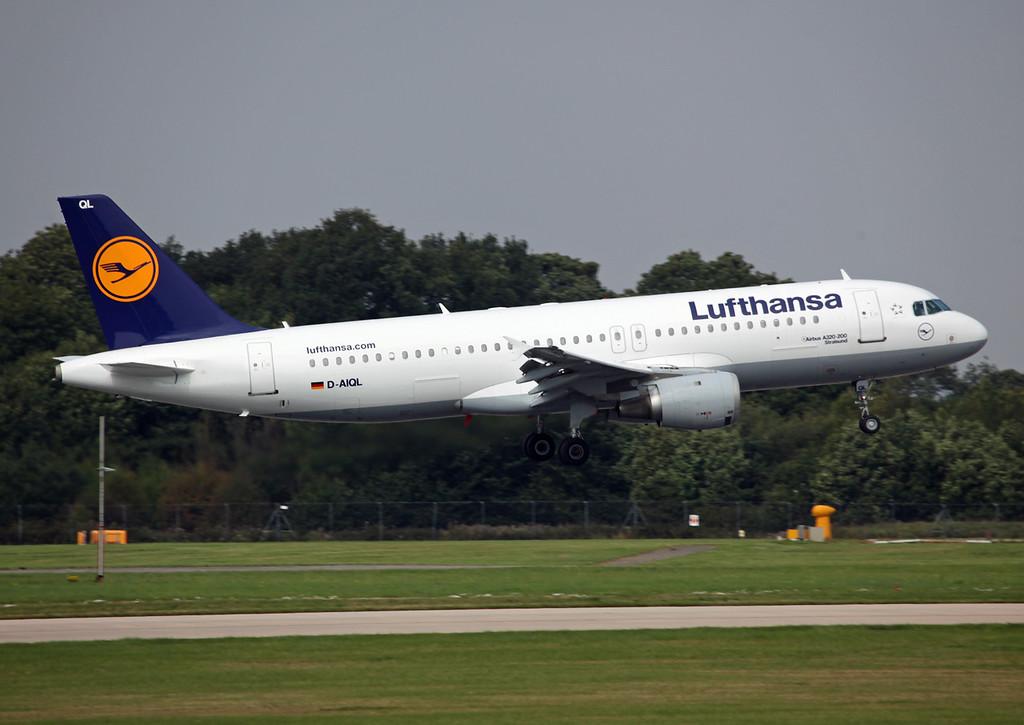 D-AIQL Airbus A320-200 (MAN) Lufthansa