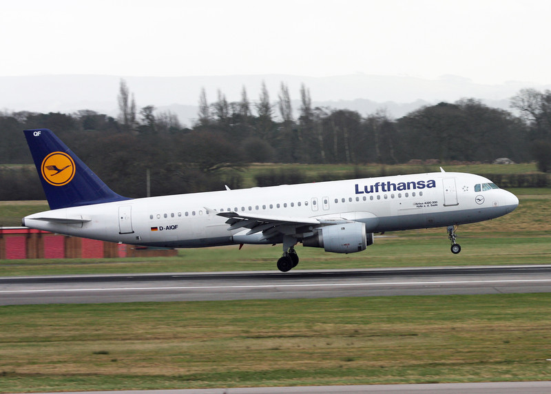 D-AIQF Airbus A320-211 (MAN) Lufthansa