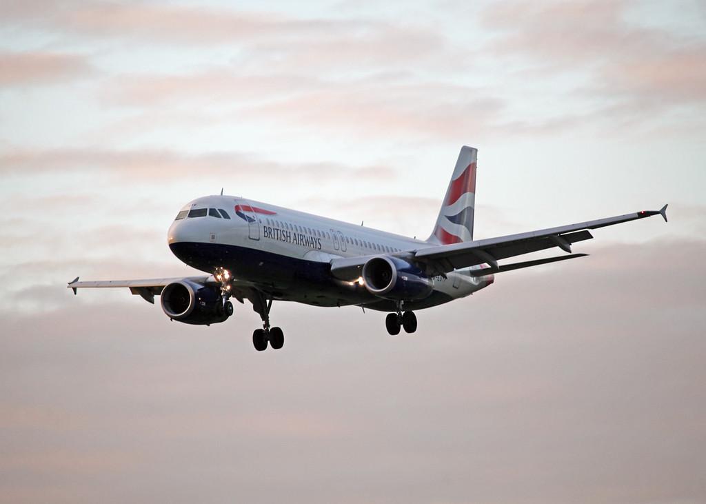 G-EUYF A320-200 (MAN) British Airways