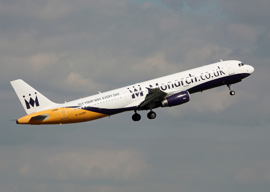 G-OZBP Airbus A321-231 (Birmingham International) Monarch Airlines