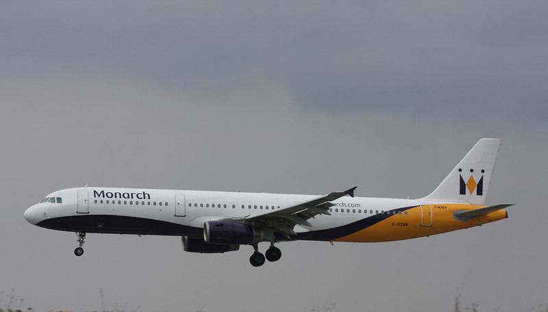 G-OZBN Airbus A321-231 (MAN) Monarch Airlines 1