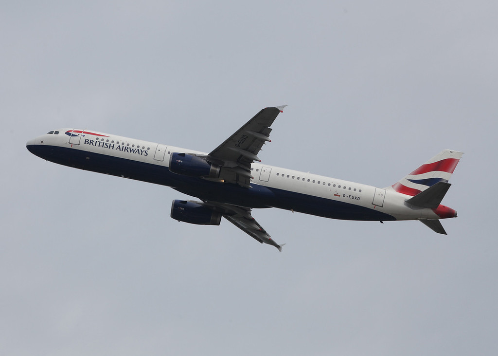 G-EUXD Airbus A321-231 (MAN) British Airways
