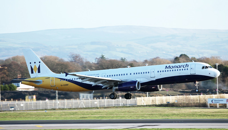 G-OZBF Airbus A321-231 (MAN) Monarch Airlines