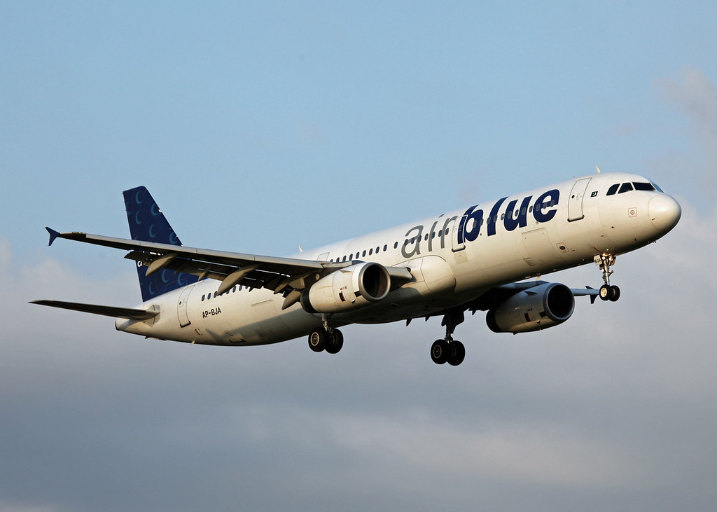 AP-BJA A321-200 (MAN) Air Blue