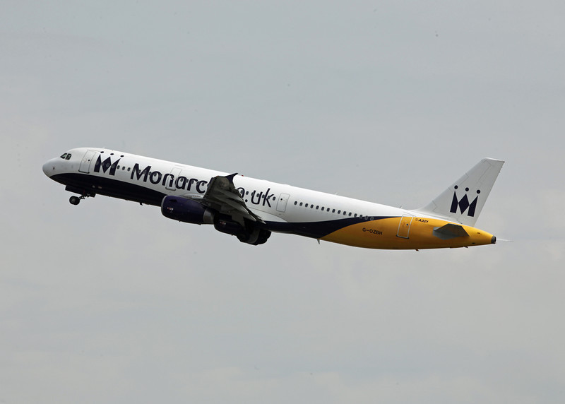 G-OZBH Airbus A321-231 (MAN) Monarch Airlines