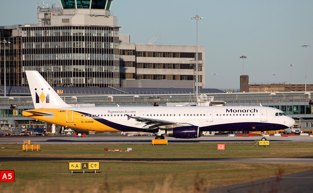G-OZBM A321-231 (MAN) Monarch