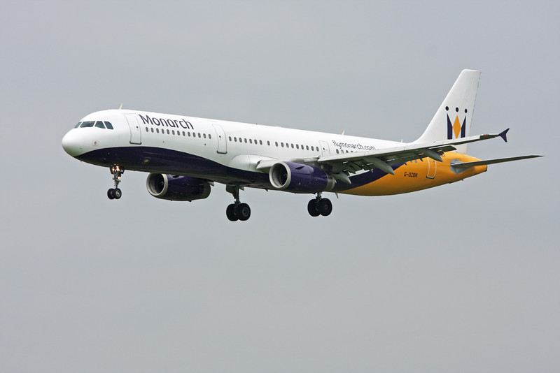 G-OZBN Airbus A321-231 (MAN) Monarch Airlines